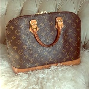 Louis Vuitton Alma Handbag w/ Dustbag